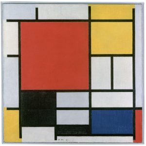 Composición en rojo, amarillo, azul y negro, Piet Mondrian 1921